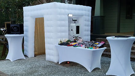 MVP Photo Booth Charleston White Inflatable