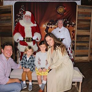 Mercantile + Mash Cookies with Santa