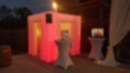 MVP Photo Booth Charleston Inflatable Red