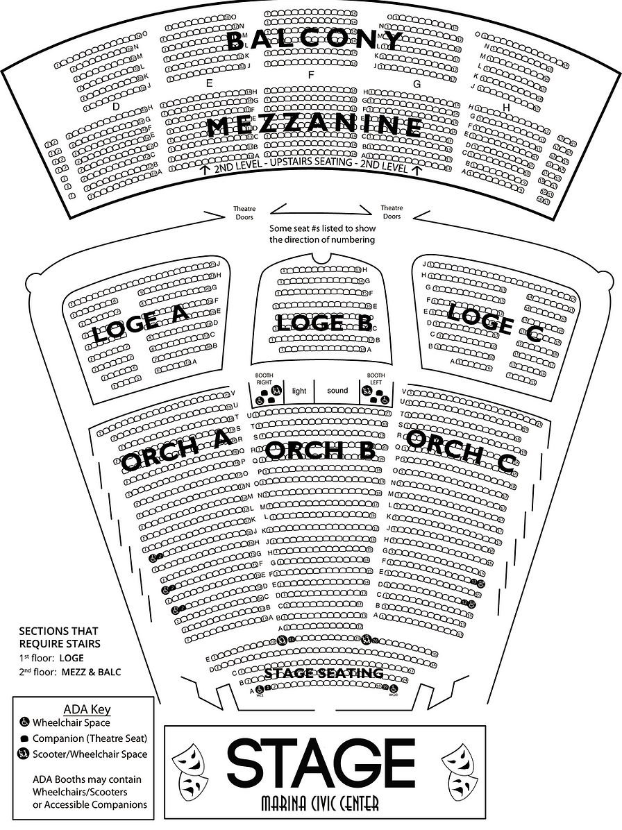 Civic Theatre Seating Chart Brokeasshome Com