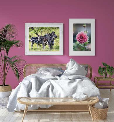Rasberry Bedroom - by Ulrike & Melina