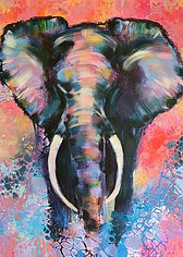 Elephants by Nordquist