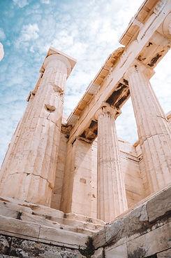 Parthenon at the Acropolis of Athens