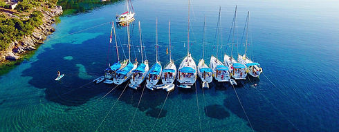 Flotilla Mooring in Greece