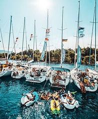 Flotilla Mooring Fun and Games