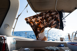 relax abroad a sailboat