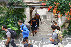 Walk the picturesque cobbled alleys