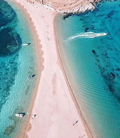 Kolona Bay under the Greek Sun