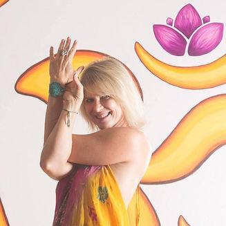 Mary Bruce Yoga Pose