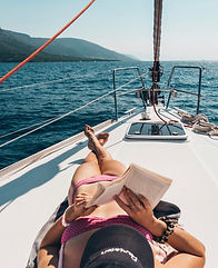 Reading the book under the Greek Sun