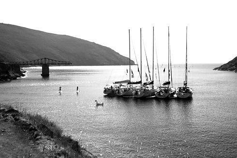 Flotilla Mooring in Serifos, Greece