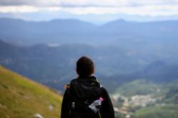enjoy the mountain view