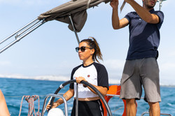 Sailing the Cyclades