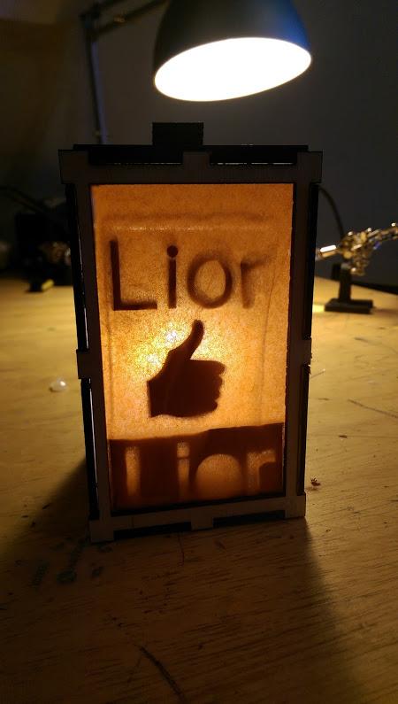 Laser cut lanterns