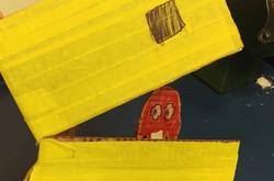 Cornell Cardboard Pacman