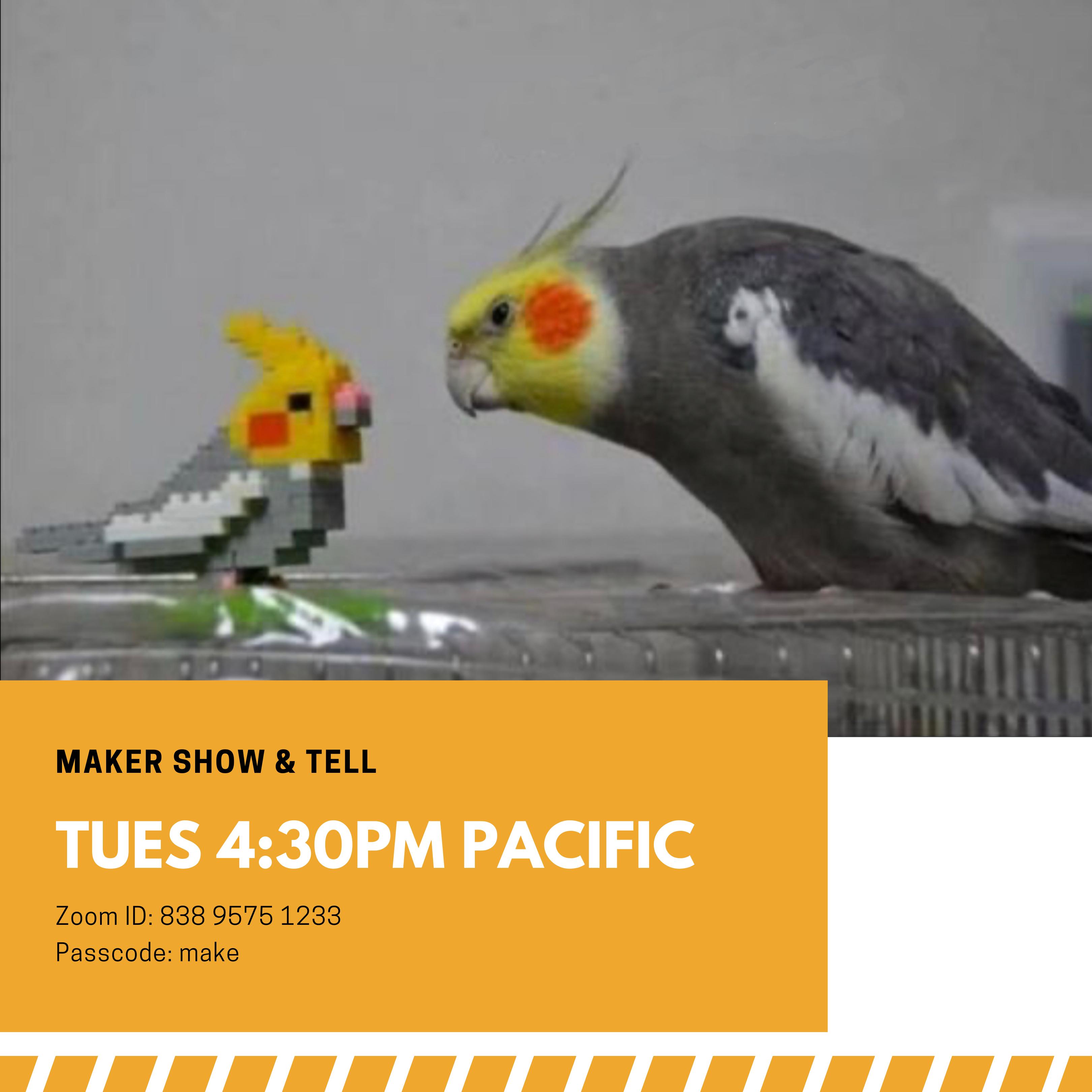 Maker Show & Tell