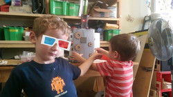 Brothers in robotics.