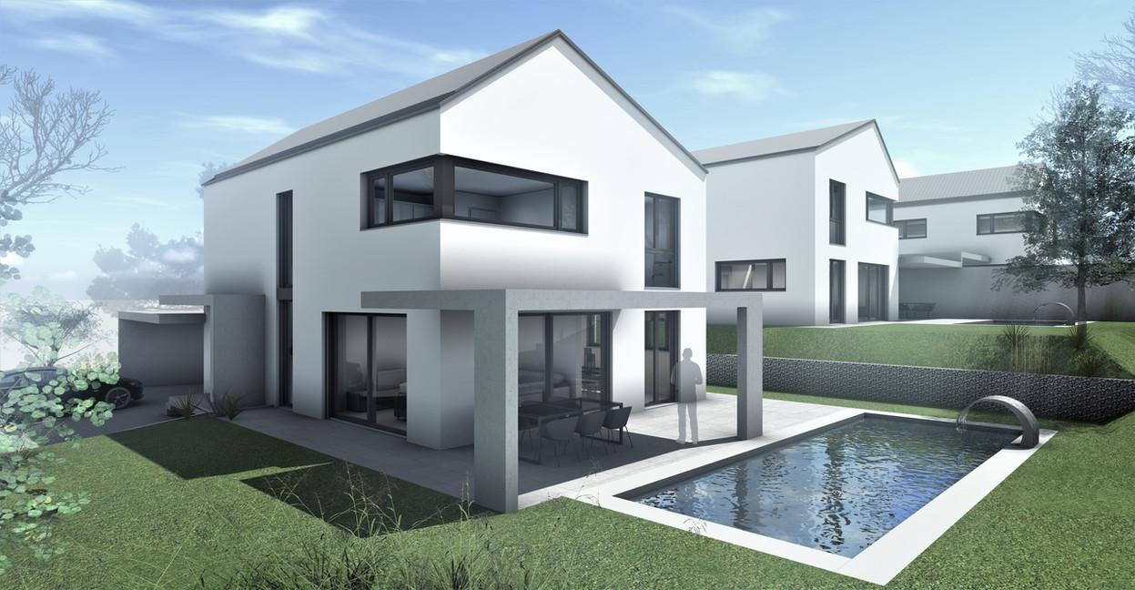 Bauteam11| Überbauung Etziken | Fassade