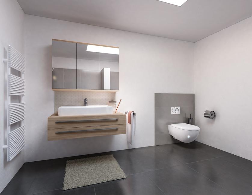 Bauteam11| MFH Deitingen | Badzimmer