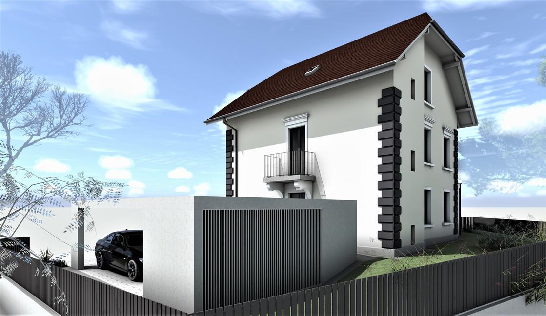 Bauteam11| MFH Solothurn | Süd-Ostfassade