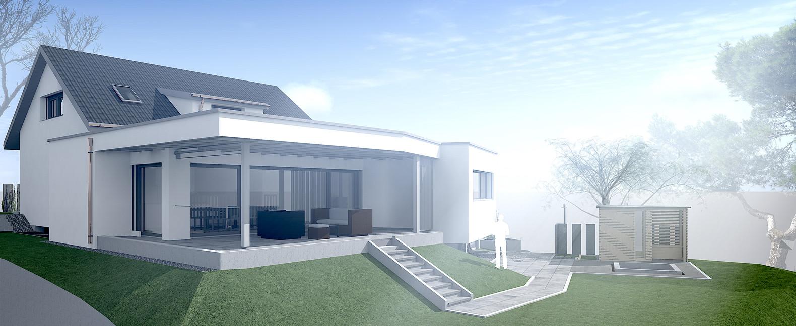 Bauteam11| EFH Langendorf | Fassade