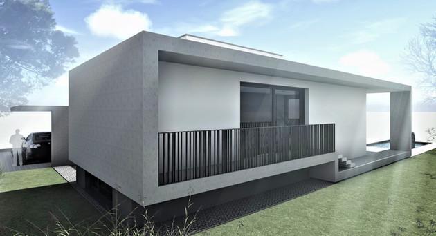Bauteam11  EFH Bellach Kaselfeld 1   Fassade