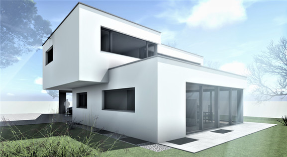 Bauteam11  EFH Gerlafingen   Fassade