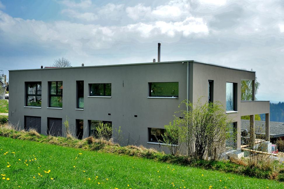 Bauteam11  2FH Rüttenen   Nordfassade