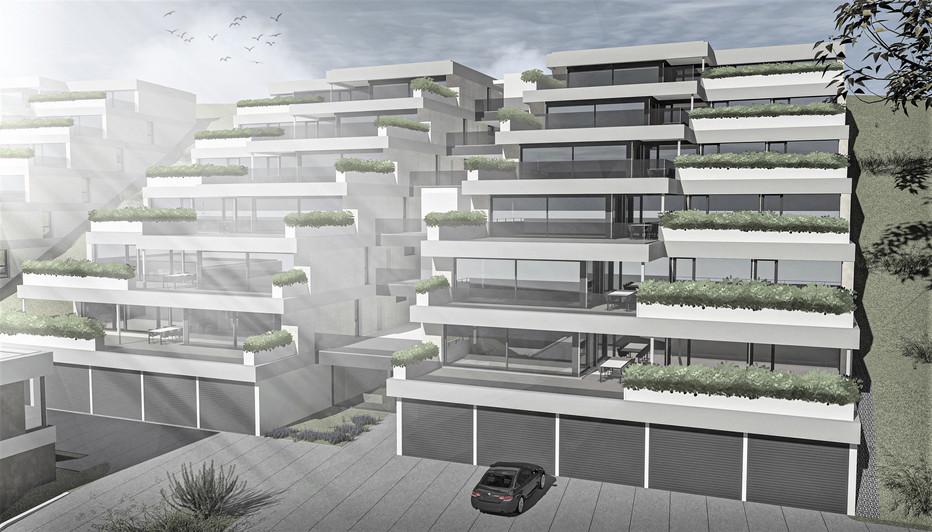 Bauteam11| überbauung safnern | Haus b