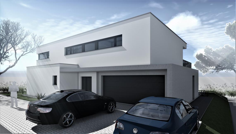 Bauteam11| EFH Bellach Hübeli 2 | Nord-Ostfassade