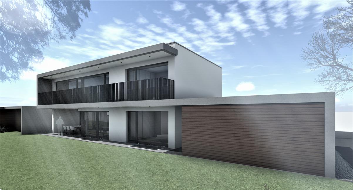 Bauteam11| EFH Bellach Kaselfeld 2 | Fassade