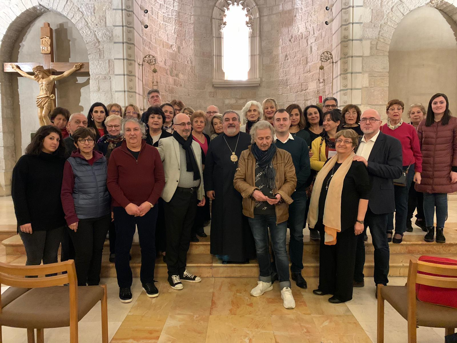 Pilgrimage 2020 - Group Chapel  NotreDam