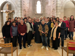 Pilgrimage 2020 - Group Chapel  NotreDam