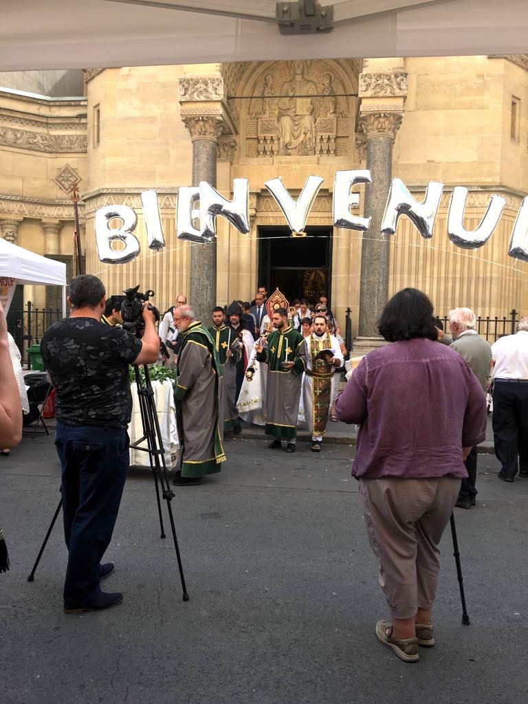 ASF 2018 - Procession from church