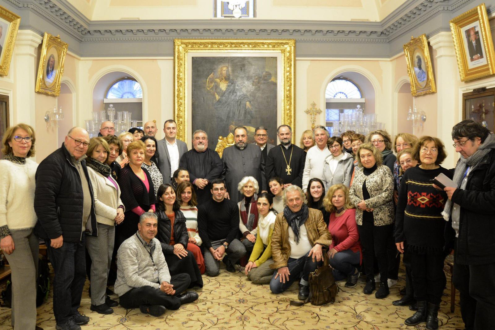 Pilgrimage 2020 Group Photo Patriarch