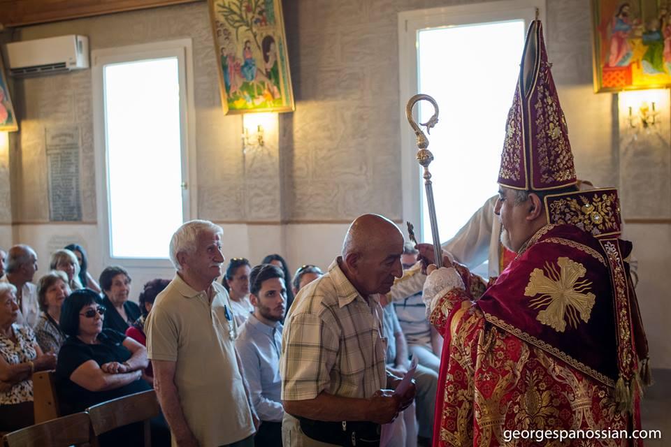 St Tateos Bp Vahan Blessing 2019