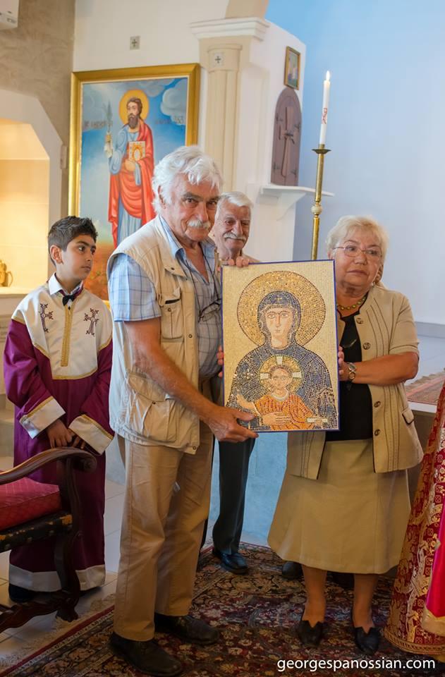 St. Tateos Icon. 2019