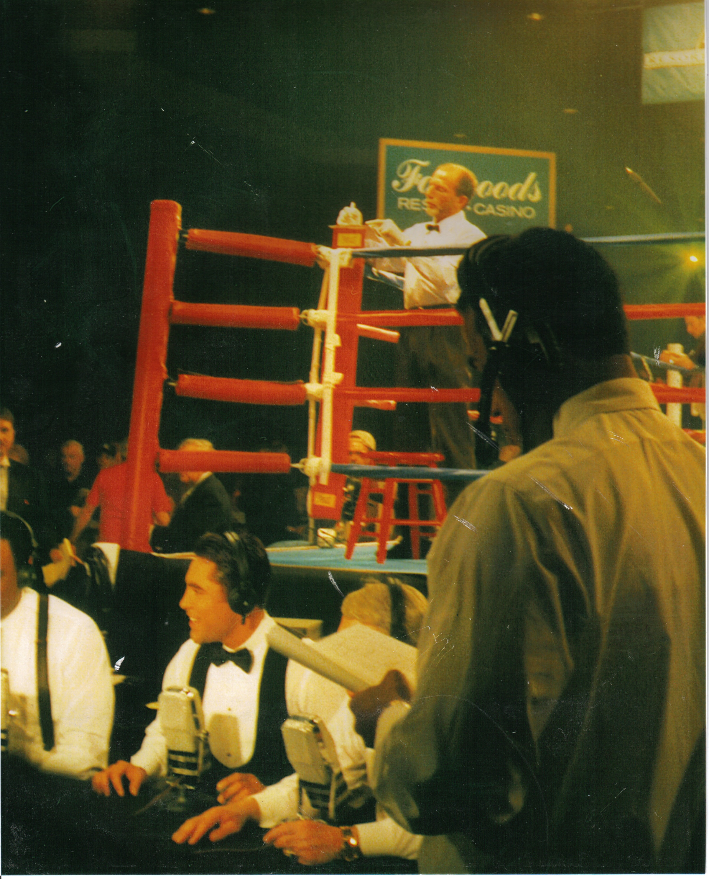 FOXWOODS TITLE FIGHT 1998 IBF 154LBS YORI BOY CAMPAS V RANDY STEPHENS