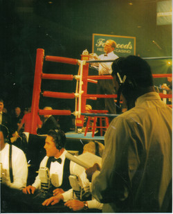 FOXWOODS TITLE FIGHT 1998 IBF 154LBS YORI BOY CAMPAS V RANDY STEPHENS