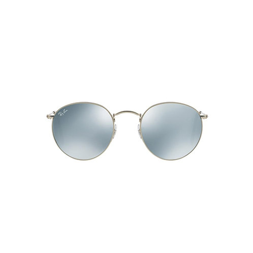 Ray Ban RB3447 01930 Round Metal Flash Lenses