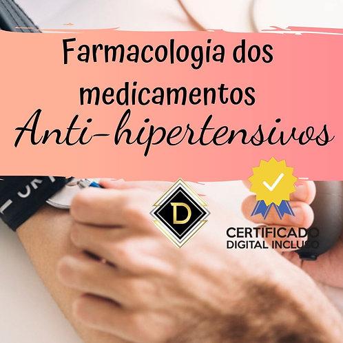 Farmacologia dos medicamentos anti-hipertensivos