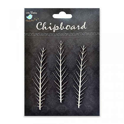 Little Birdie Chipboard  - Priky Foxtail