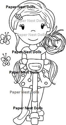Paper Nest Dolls - Scooter Avery