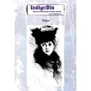 Indigo Blu A6 Stamp - Elsie