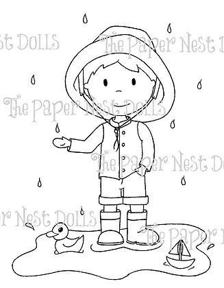 Paper Nest Dolls - Rainy Day Owen