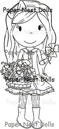 Paper Nest Dolls - Flower Basket Avery
