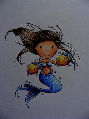 Paper Nest Dolls - Zodiac - Pisces