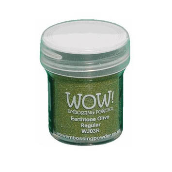 WOW! Embossing Powder - Earthtone Olive