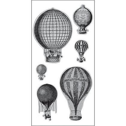 Hampton Arts Stamps - Hot Air Balloons