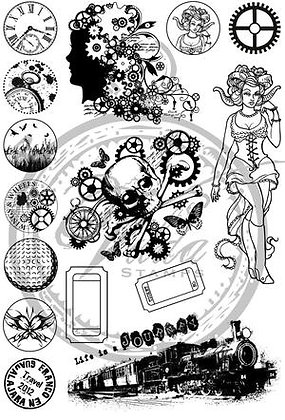 Vilda Stamps - Inch Kit